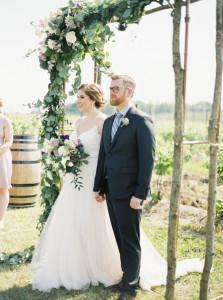 Niagara winery wedding, Niagara wedding florist